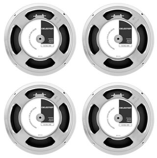 4 X Celestion G12k 100 Guitar Speakers 8ohm Bundle Pack