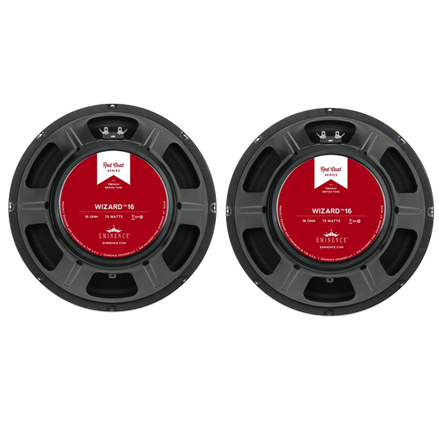 PAIR PACK (x2) Eminence THE WIZARD 8ohm 12