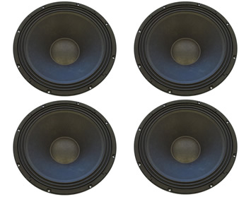 4 X Celestion Ftr18 4080hdx 1000w Rms 18 Quot Woofers Bundle Pack