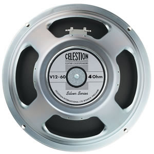 Celestion V12-60 Silver Series Classic Guitar Speaker 8ohm