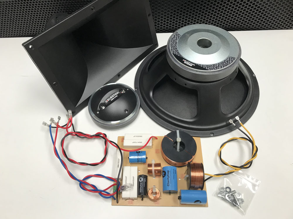 Celestion 12 x 1 300 Watt Speaker Kit with Crossover