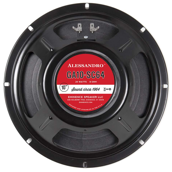 Eminence George Alessandro A 12 Speaker 40 W 8 Ohm