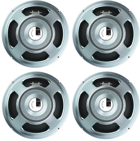 4 X Celestion Seventy 80 Guitar Speakers 8ohm Bundle Pack